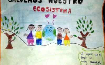 Proyecto Verde Vivo – Afiche Sede Gran Colombia