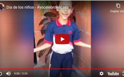 Dia de los Niños – #yocelebroencasa