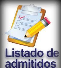 Lista de Admitidos – Grupos Adicionales